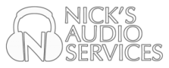 logo nick's audio services